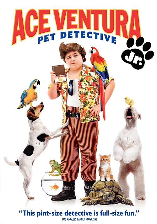 Эйс Вентура младший / Ace Ventura Jr: Pet Detective (2009) DVDRip