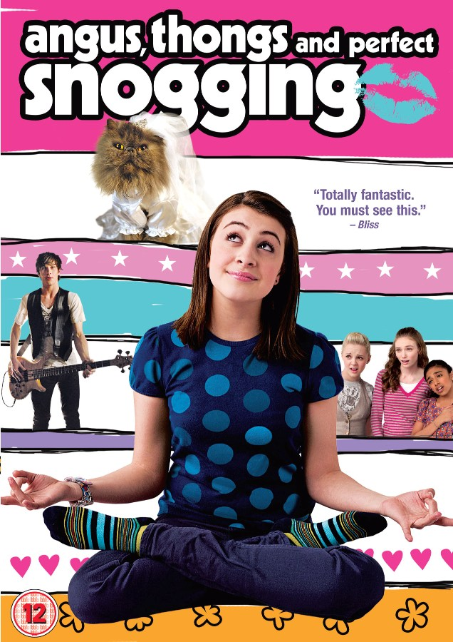 Ангус, стринги и поцелуи взасос / Angus, Thongs and Perfect Snogging (2008) DVDRip