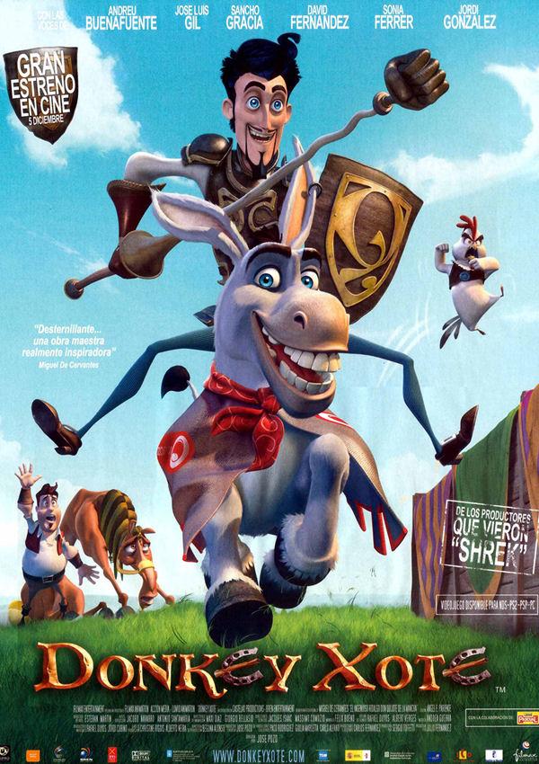 Дон Кихот / Donkey Xote (2007) HDRip