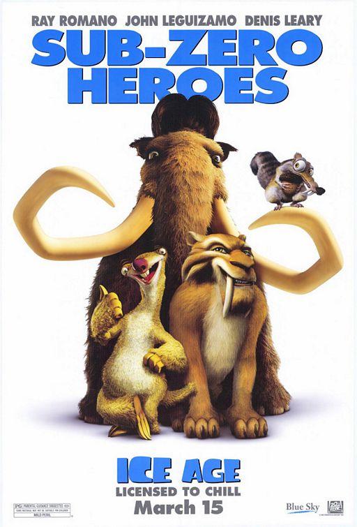 Ледниковый период / Ice Age (2002) DVDRip