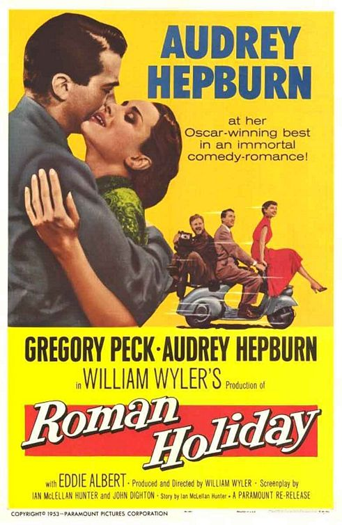 Римские каникулы / Roman Holiday (1953) DVDRip
