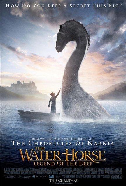 Мой домашний динозавр / The Water Horse: Legend of the Deep (2007) DVDRip