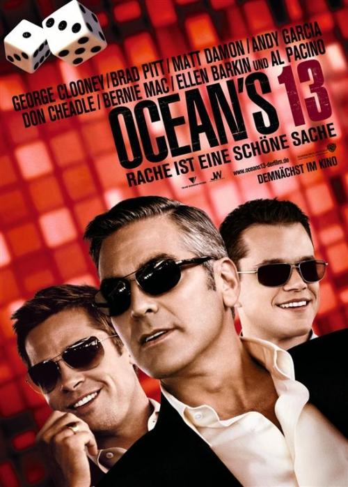 Тринадцать друзей Оушена / Ocean's Thirteen (2007) DVDRip