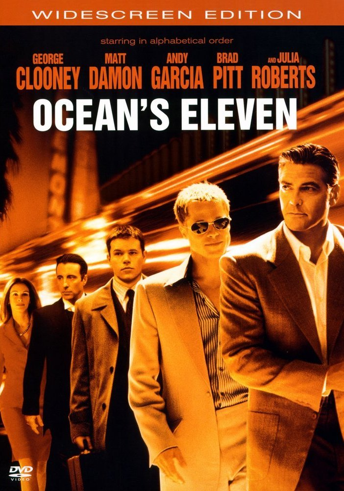 Одиннадцать друзей Оушена / Ocean's Eleven (2001) DVDRip